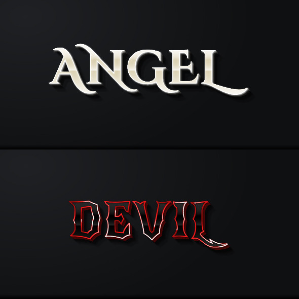 Fantasy Game Style Text Effects