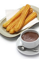 churros and hot chocolate - PhotoDune Item for Sale