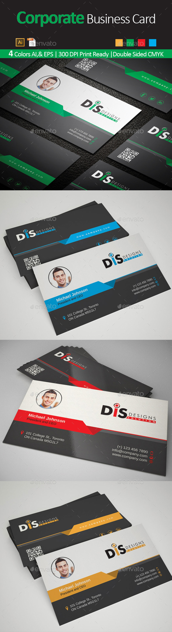GraphicRiver Business Card 02 10191733