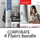 Corporate Business 4 Flyer Bundle - GraphicRiver Item for Sale