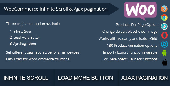 CodeCanyon WooCommerce Infinite Scroll and Ajax Pagination 10192075