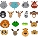 Colorful Exotic Animals Collection - GraphicRiver Item for Sale