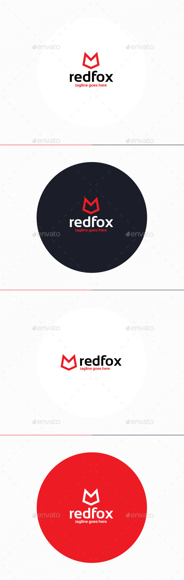 GraphicRiver Red Fox Logo 10192367