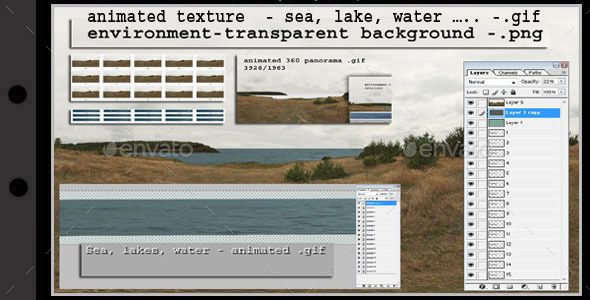 3DOcean animated texture sea 2 10192374