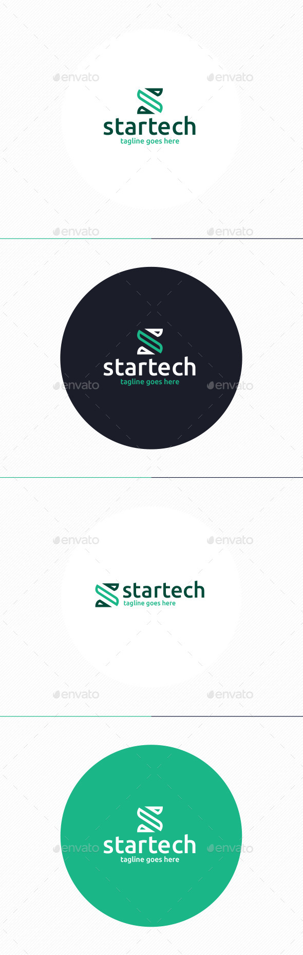 GraphicRiver Startech Logo Letter S 10192425