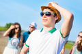 young man in sunglasses - PhotoDune Item for Sale