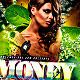 Money Drop In Jungle Party Flyer PSD Template - GraphicRiver Item for Sale