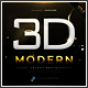 Modern 3D Text Effects GO.3 - GraphicRiver Item for Sale