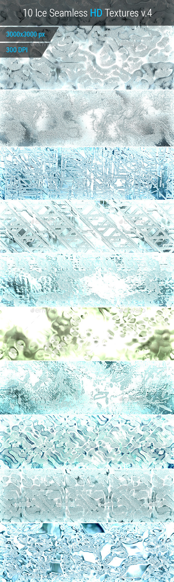 GraphicRiver Ice Seamless and Tileable Background Texture v.4 10193890