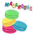 French macaroon cookies - PhotoDune Item for Sale