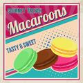 Macaroons retro poster - PhotoDune Item for Sale