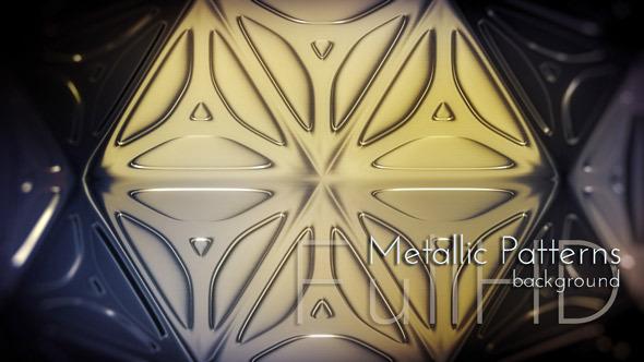 Dark Metallic Patterns