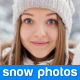 Snow Photo Reveal - VideoHive Item for Sale