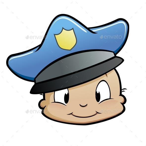 GraphicRiver Baby Cop 10194807