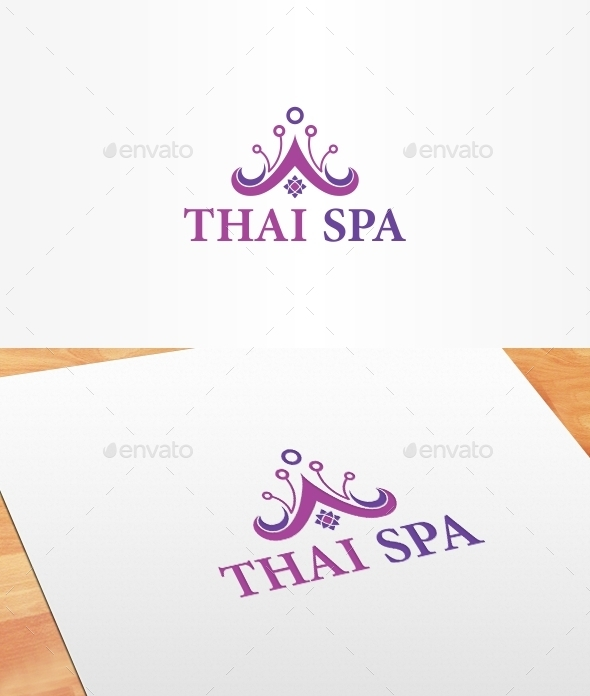 GraphicRiver Thai Spa Logo Template 10194998