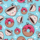 Pattern Coffe and Donut - GraphicRiver Item for Sale