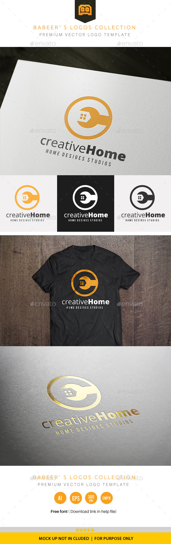 GraphicRiver Creative Home 10196011