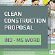 Clean Construction Proposal - GraphicRiver Item for Sale