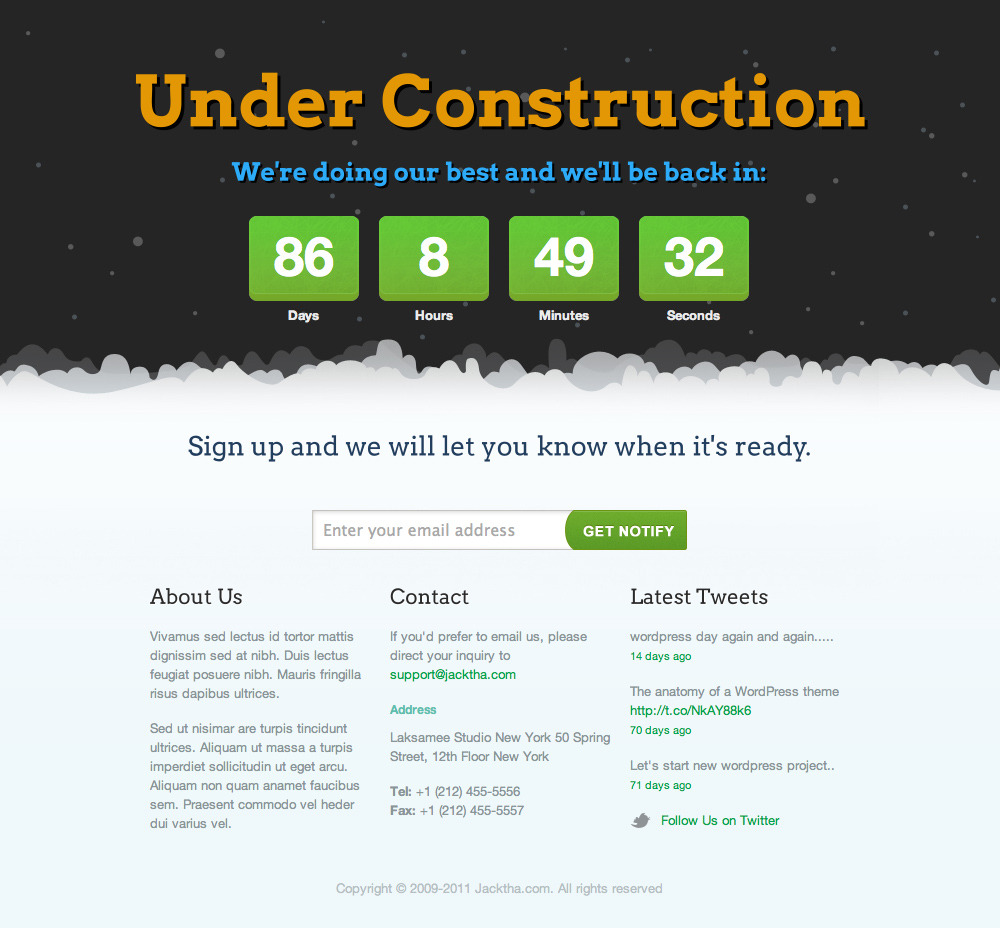 Seal 404-Construction Template