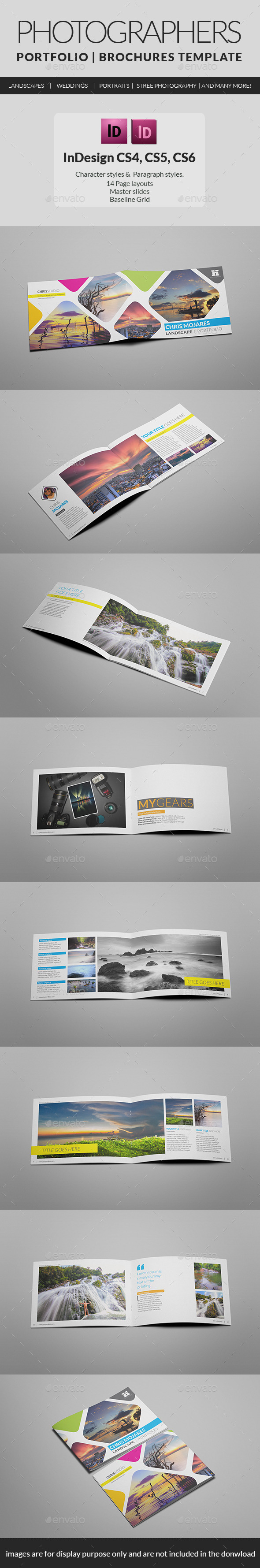 GraphicRiver Photography Portfolio A5 Brochure 10196684