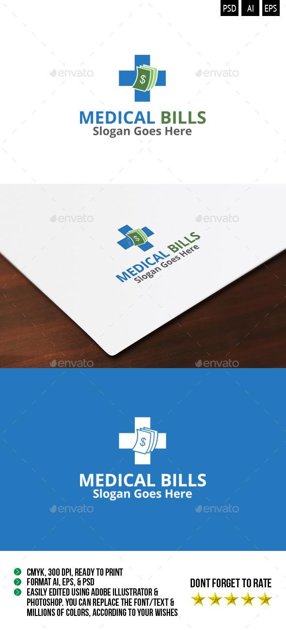 GraphicRiver Medical Bills Logo 10196907