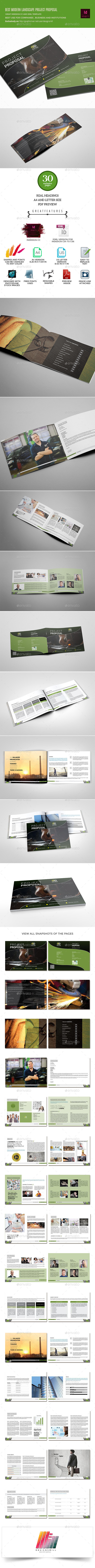 GraphicRiver Three Rings Project Proposal Template 10196937
