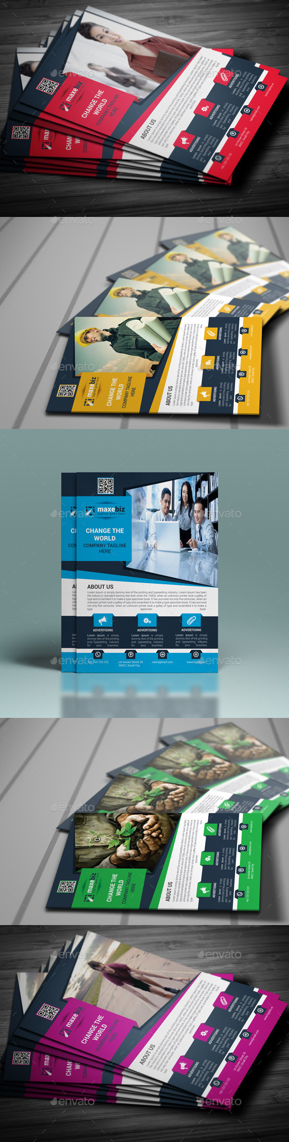 GraphicRiver Corporate Flyer Template 10197060