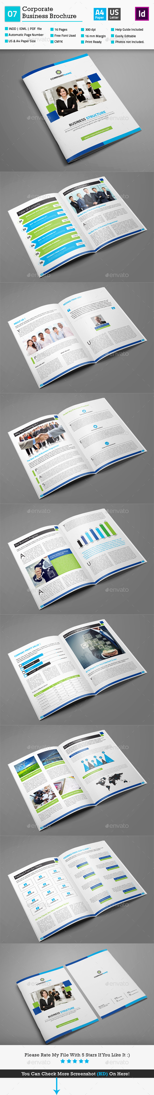 GraphicRiver Corporate Business Brochure 07 10197137