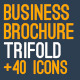 New Business Brochure - Trifold 01 - GraphicRiver Item for Sale
