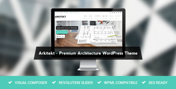 Arkitekt - Premium Architecture WordPress Theme - Business Corporate