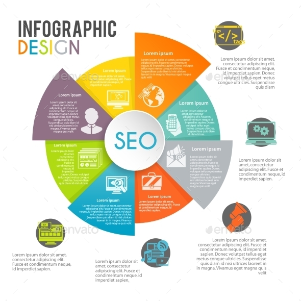 GraphicRiver Seo Internet Marketing Infographics 10198270