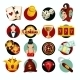 Casino Icons Set - GraphicRiver Item for Sale