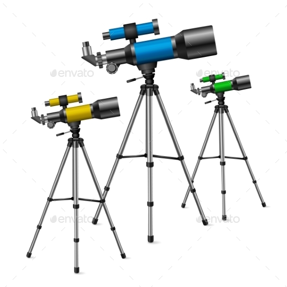 GraphicRiver Telescope 10198503