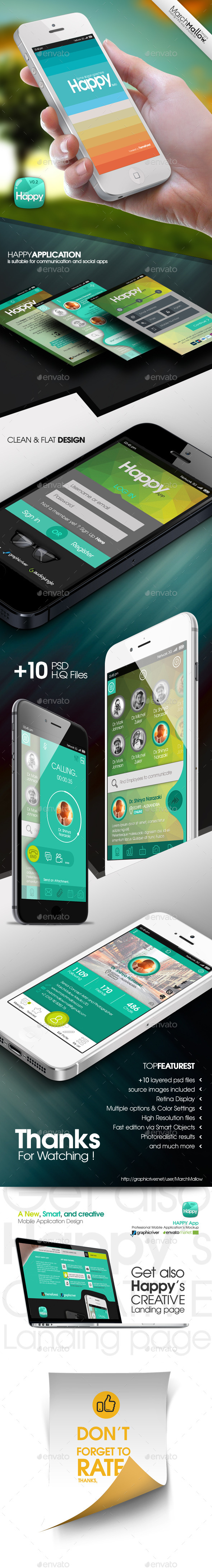 GraphicRiver Happy App 10002242