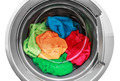 colorful clothes in the washing machine - PhotoDune Item for Sale