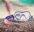 mask and snorkel to swim - PhotoDune Item for Sale