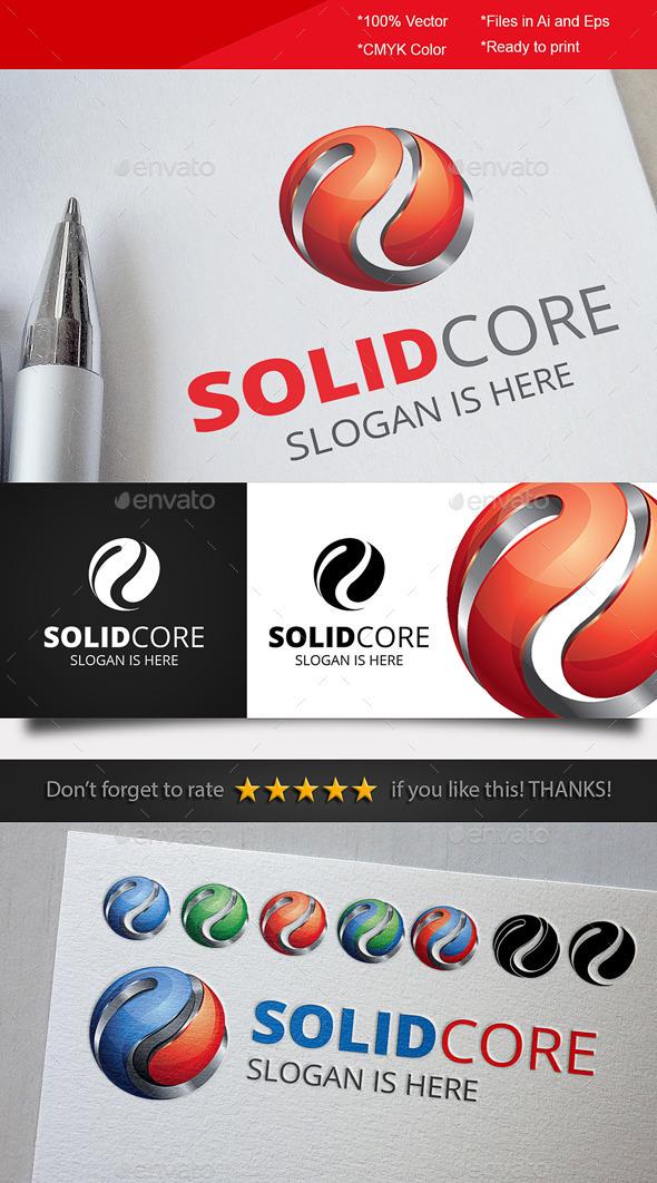 GraphicRiver Solid Core Logo 10198595