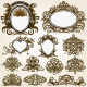 Calligraphic Frames and Design Elements - GraphicRiver Item for Sale