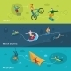 Extreme Sports Banners - GraphicRiver Item for Sale