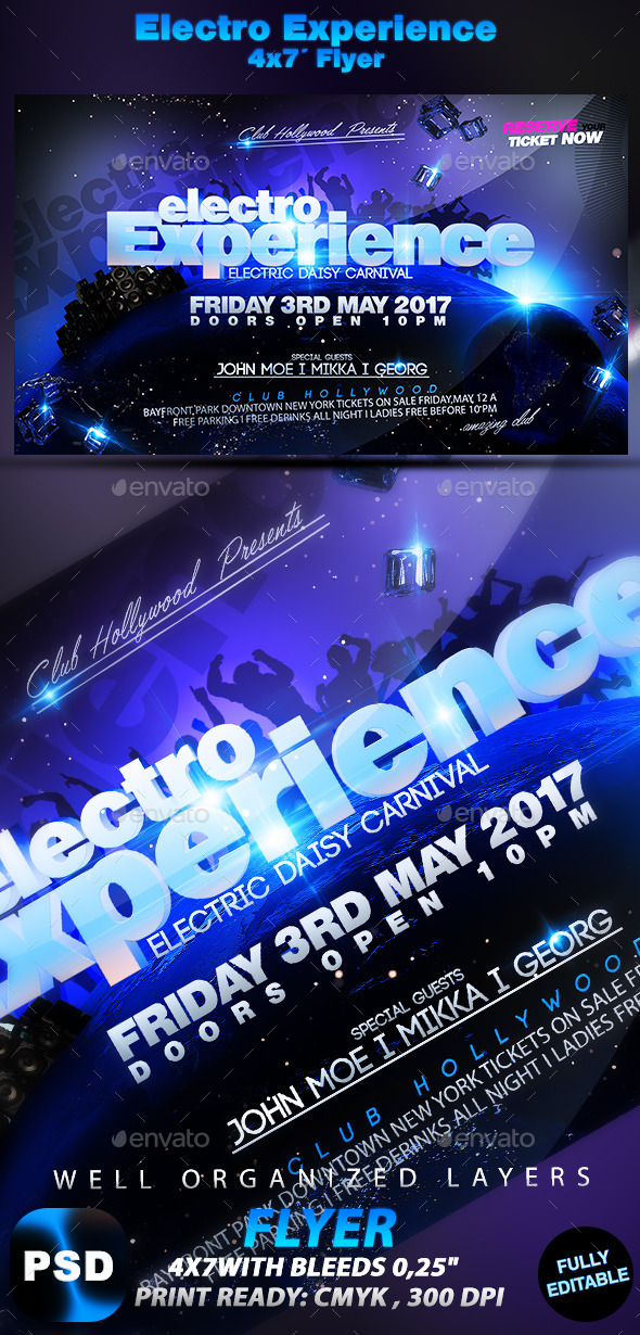 GraphicRiver Electro Experience 10198827