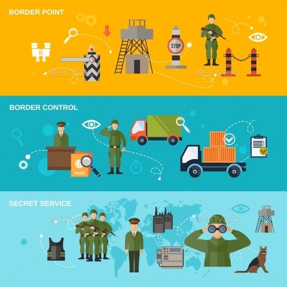 GraphicRiver Border Guard Banner 10198829