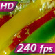 Multicolored Peppers in Water - VideoHive Item for Sale