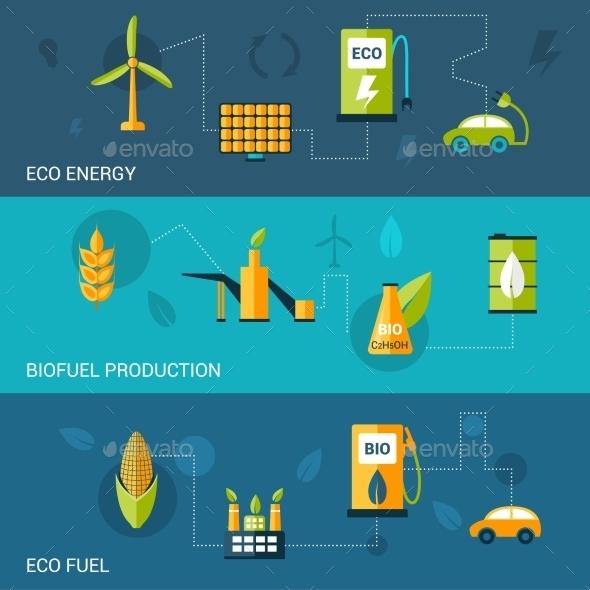 Bio Fuel Flat Banners