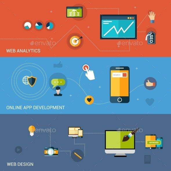 GraphicRiver Web Development Banner 10199158