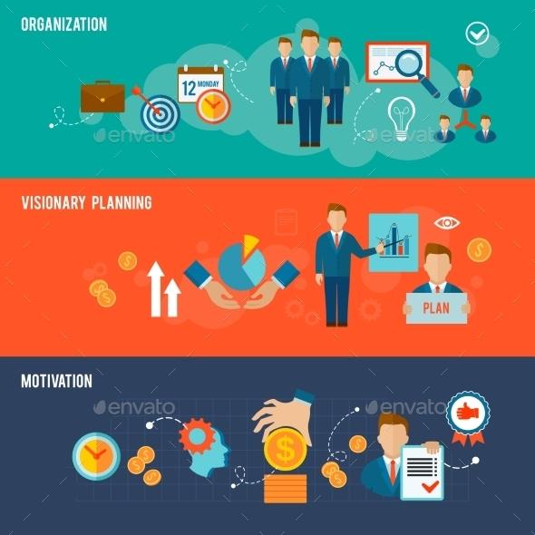 GraphicRiver Management Banner Set 10199236