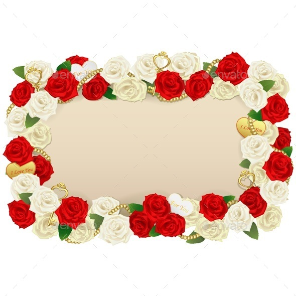 Romantic Flower Board