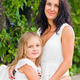 Mother and daughter in white - PhotoDune Item for Sale