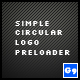 Simple Circular Logo Preloader - ActiveDen Item for Sale