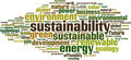 Sustainability Word Cloud Concept - PhotoDune Item for Sale