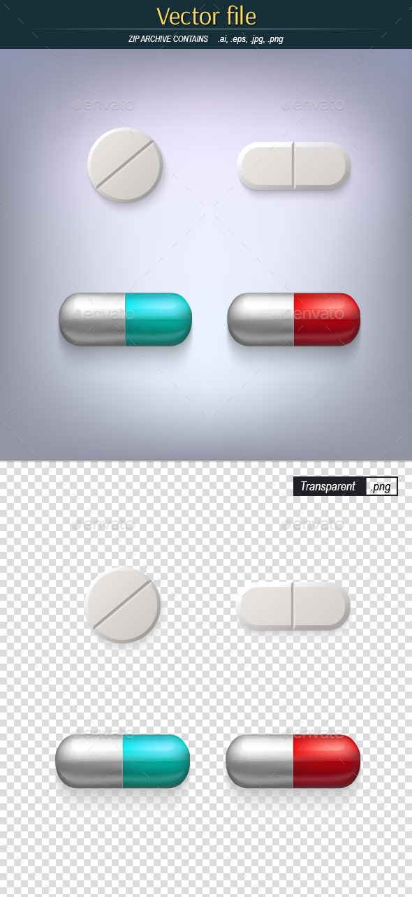 GraphicRiver Pills 10199424